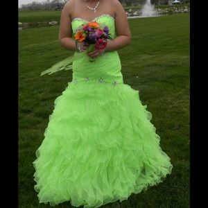 """🔥GORGEOUS❤️PROM DRESS from """"PEACHES"""""""